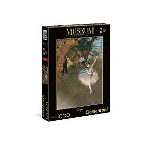 Clementoni Museum Collection Edgar Degas Jigsaw Puzzle - The Star, 1000pcs