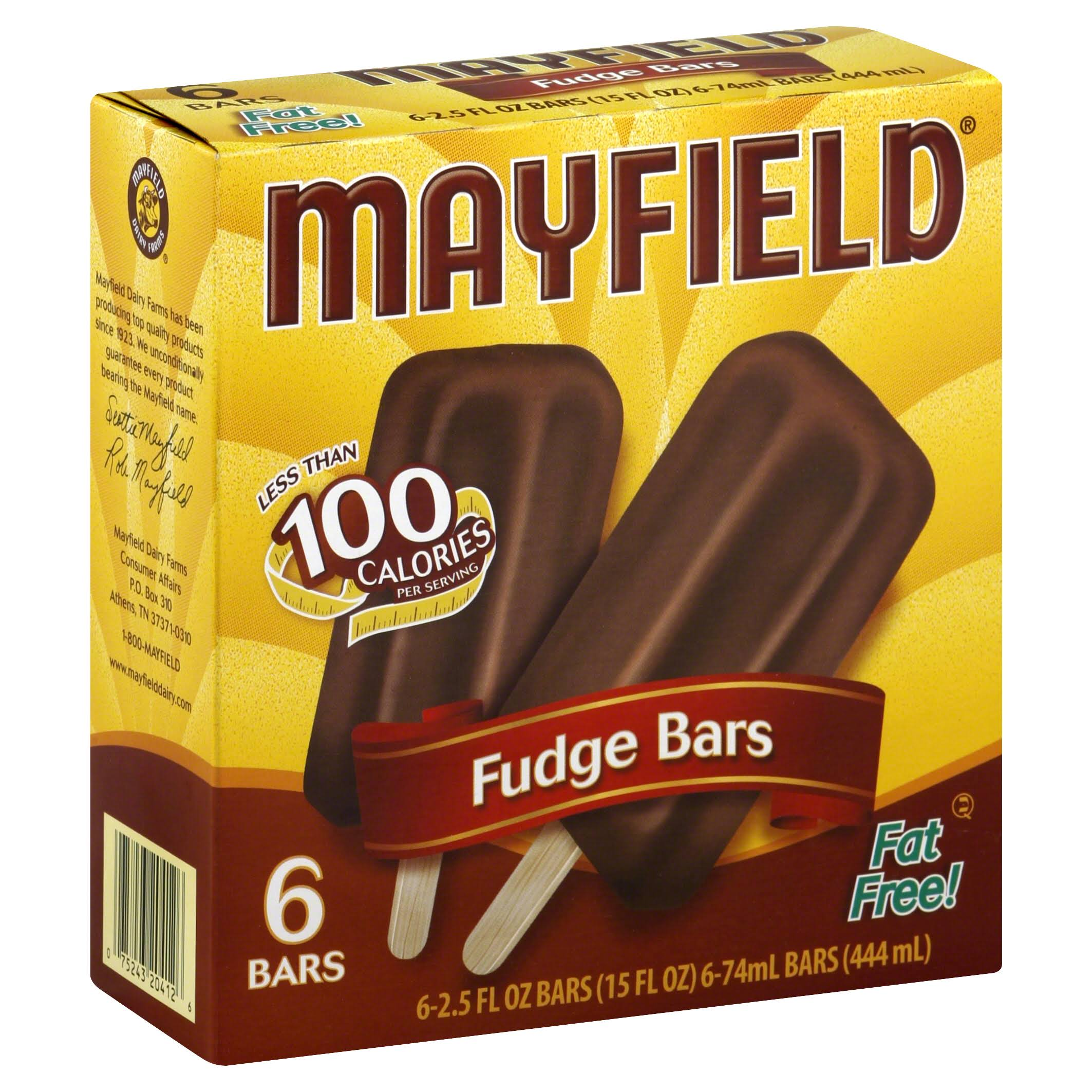 Mayfield Fudge Bar - 2.5oz, 6ct