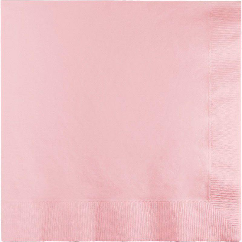Creative Converting 58158b Napkin Lunch - Pink, 10ct
