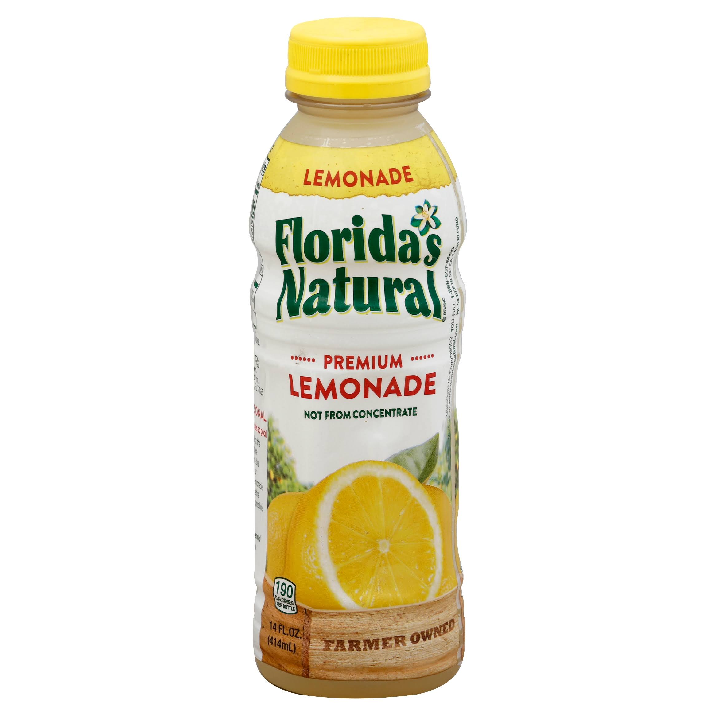 Floridas Natural Premium Lemonade - 414ml