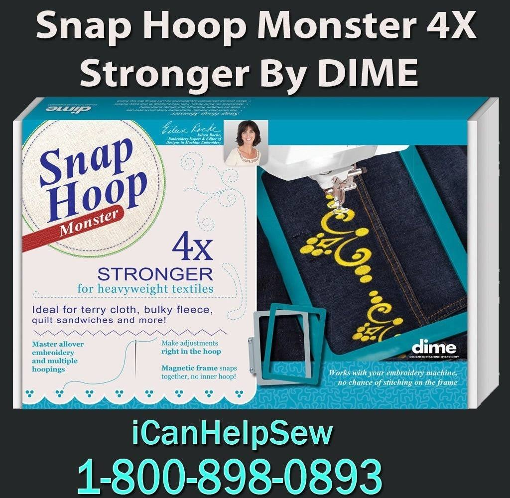 Snap-Hoop Monster / HM2 260 x 200mm