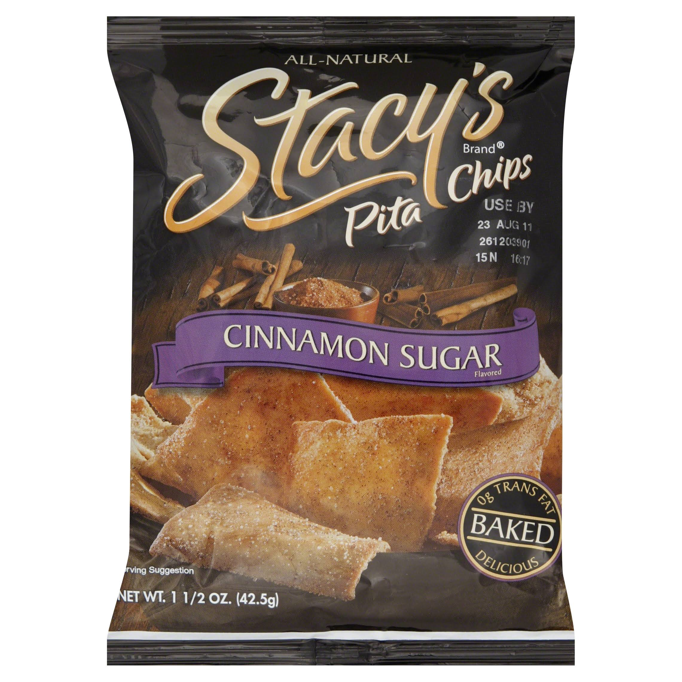 Stacy's Pita Chips - Cinnamon Sugar, 42.5g