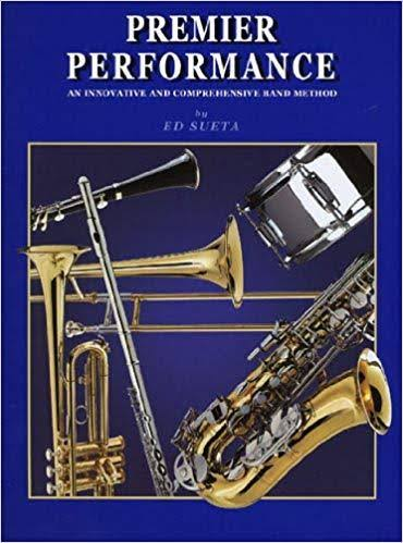 Premier Performance: Clarinet - Book 1, Ed Sueta