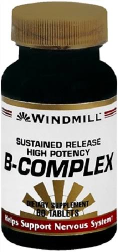 Windmill Vitamin B-Complex Tablets Sustained Release 60 Tablets