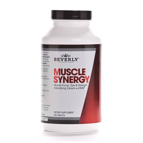 Beverly International Muscle Synergy Supplement - 240 Tablets