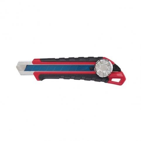 Milwaukee Metal Lock Snap-off Utility Knife - Retractable, 18mm