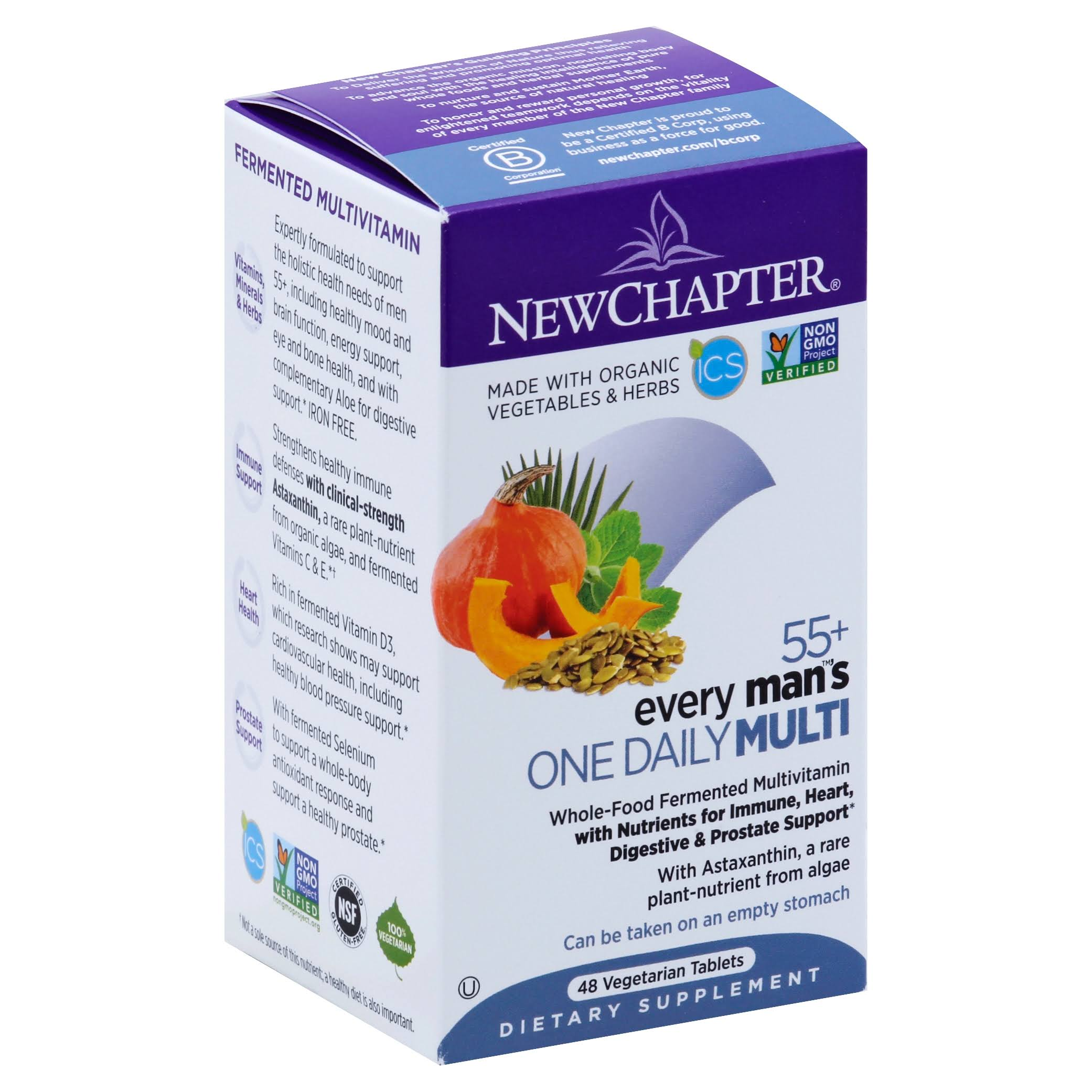 New Chapter Every Man's One Daily Supplement - 48 Count
