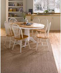 Cheap Dining Room Sets Uk by Buy Kentucky White Natural Extendable Dining Table And 6 Chairs At