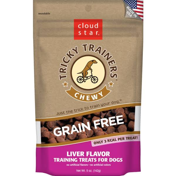 Cloud Star Tricky Trainers Chewy Grain Free Liver - 5 oz