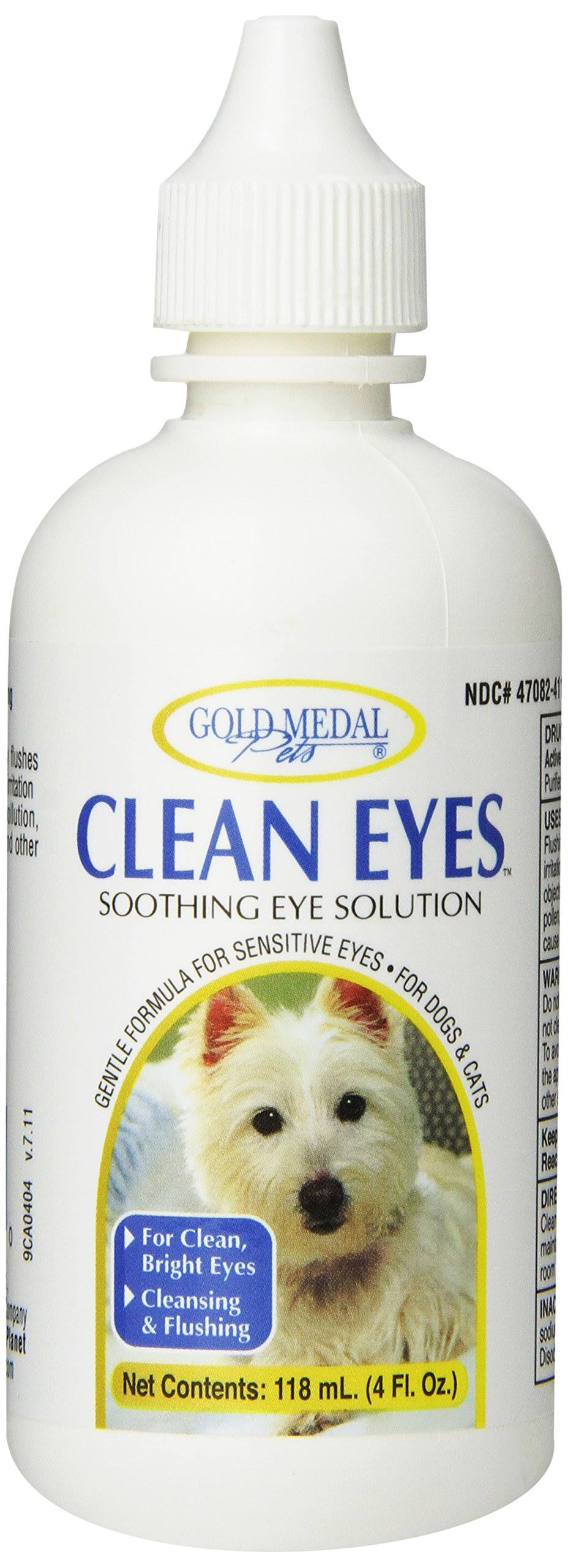 Cardinal Labs Gold Medal Clean Eyes Soothing Eye Solution - 4oz