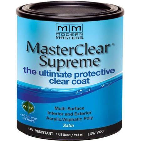 Modern Masters MasterClear Supreme Clear Coat - Satin