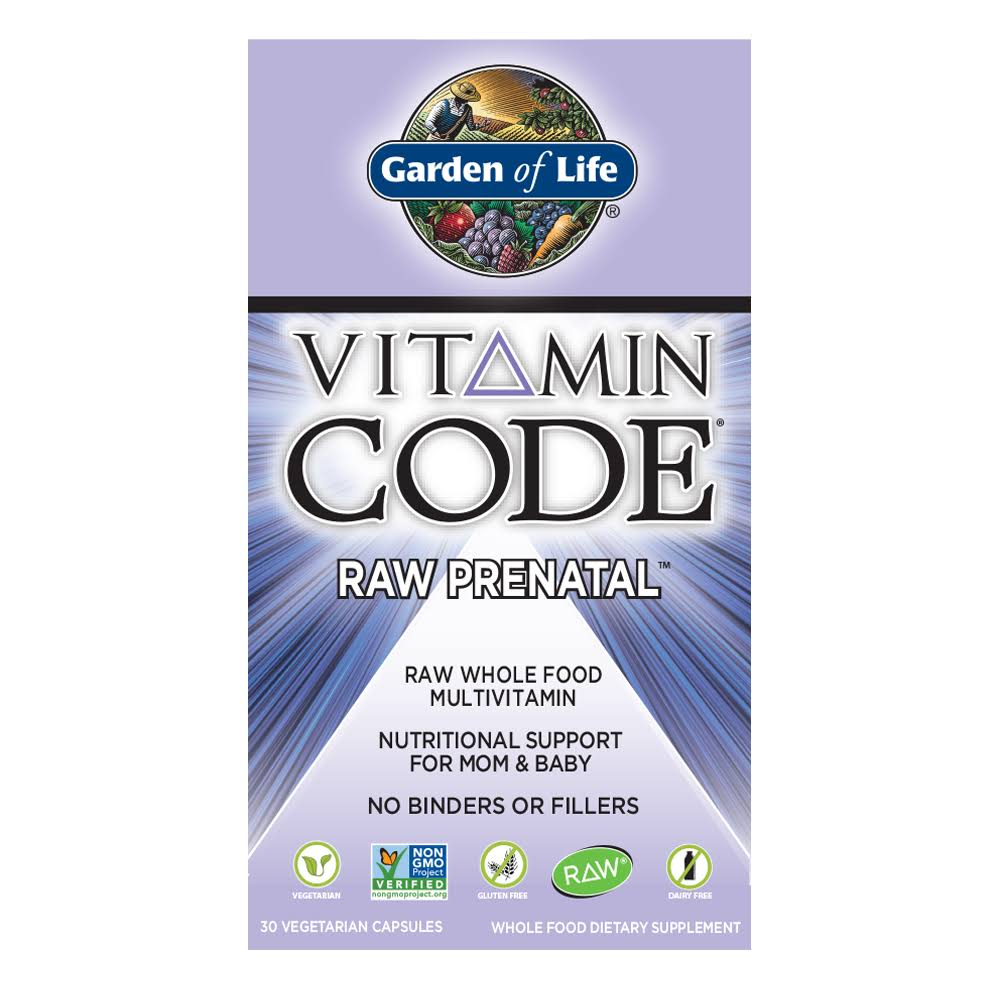 Garden of Life-Vitamin Code Raw Prenatal