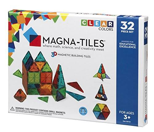 Valtech Magna-Tiles Geometric Shapes - 32 Pieces