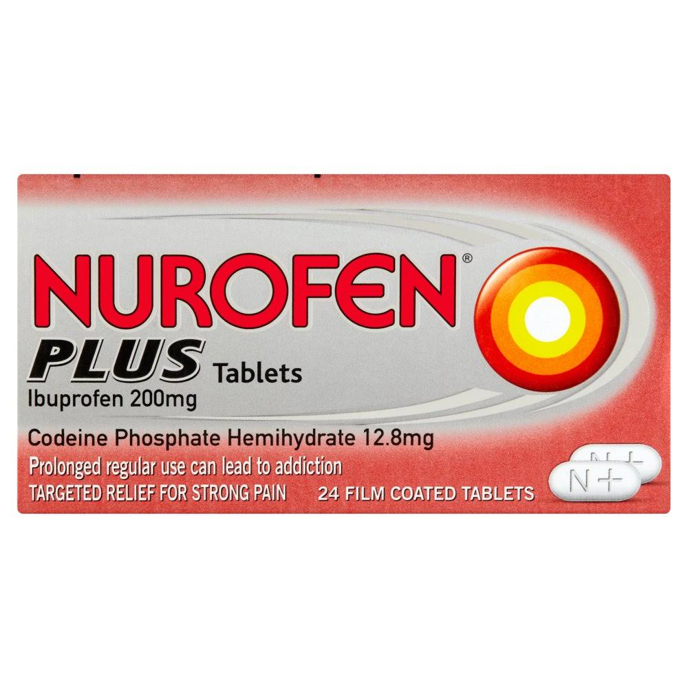 Nurofen Plus Tablets 24 Film Coated Tablets