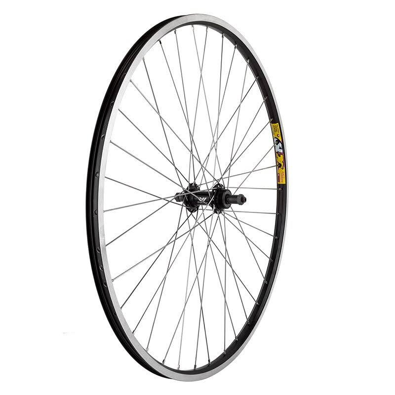 Wheel Master Wei Zac19 Rear Wheel - Black/Silver, 700c X 35