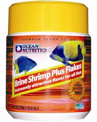 Ocean Nutrition Brine Shrimp Plus Flakes Fish Food - 34g