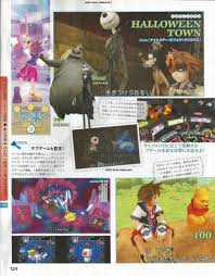 Halloween Town Keyblade Kh2 by Kh Hd 1 5 Remix In Famitsu Weekly 12 27 Kingdom Hearts Ultimania
