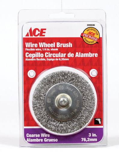 Ace Wire Wheel Brush