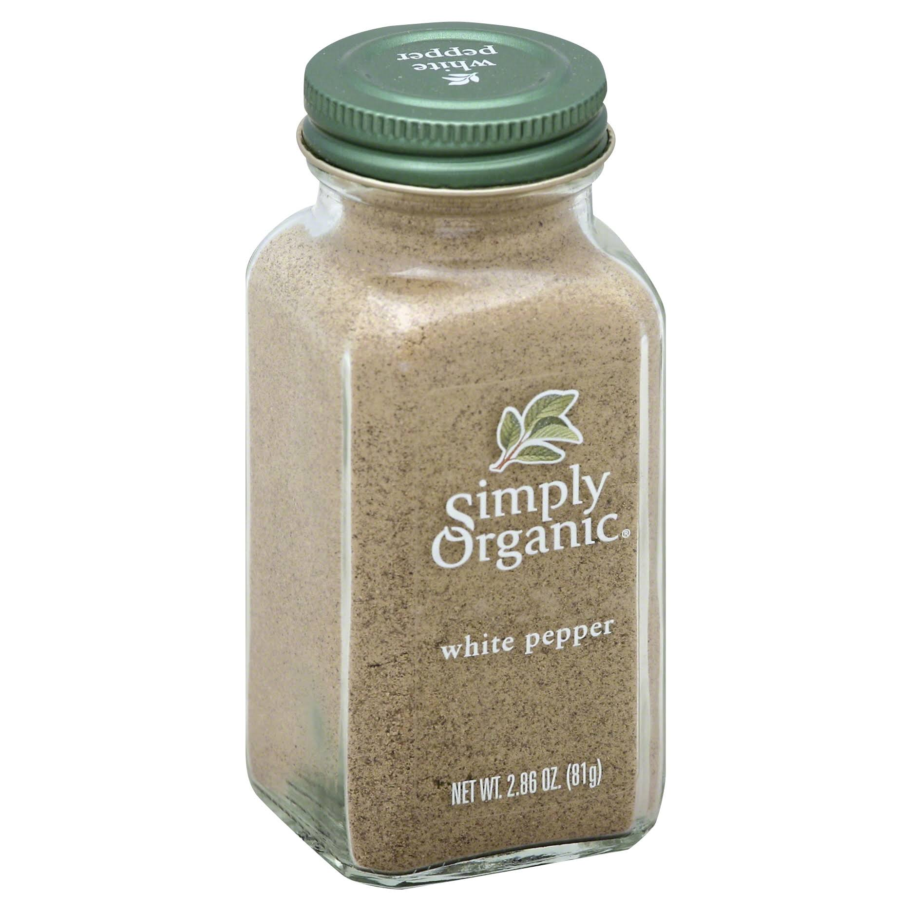 Simply Organic White Pepper - 81g