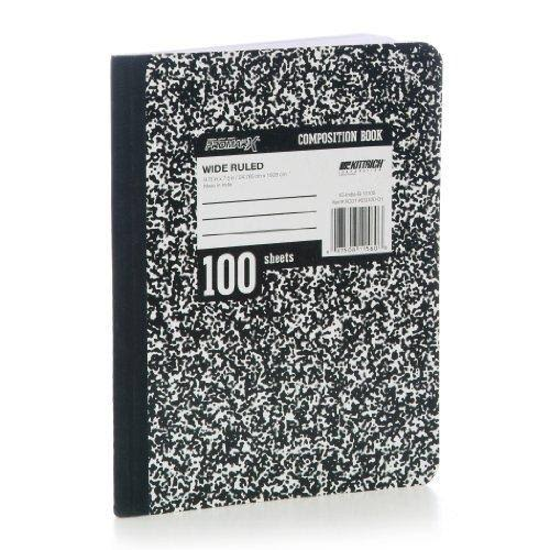 Promarx 2330037 100 Sheet Composition Book - Case of 48