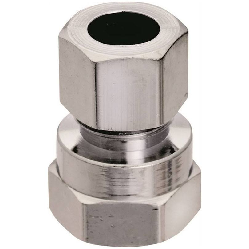 "Plumb Pak Low Lead Straight Water Supply Connector - 3/8"" x 3/8"""