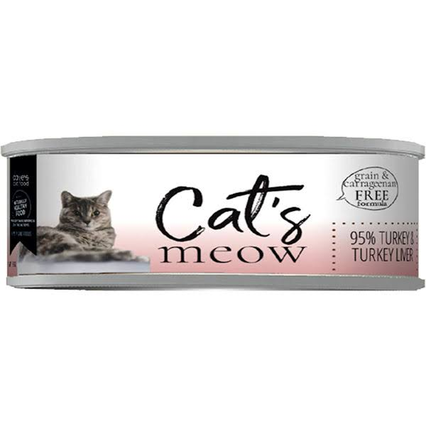Dave's Cat's Meow 95% Turkey & Turkey Liver Canned Cat Food - Can
