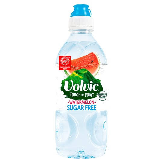 Volvic Touch of Fruit Sugar Free Natural Flavored Water - Watermelon, 750ml
