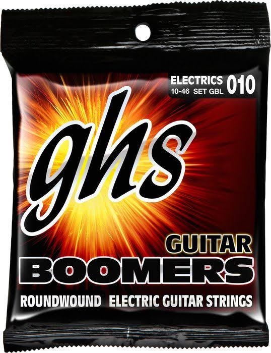 GHS GBL Guitar Boomers Roundwound Light Electric Guitar Strings - 010
