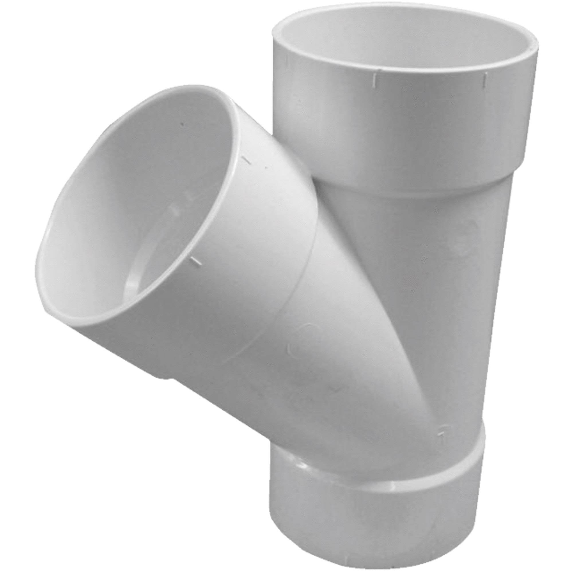 Genova Products Sewer And Drain Pipe Wye