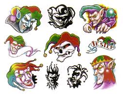 Evil Clown Pumpkin Stencils by 40 Best Clown Tattoo Designs