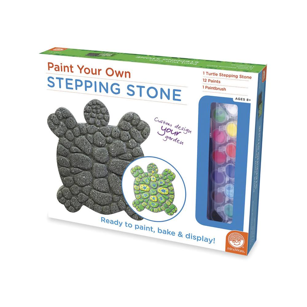 Mindware Turtle Paint Your Own Stepping Stone