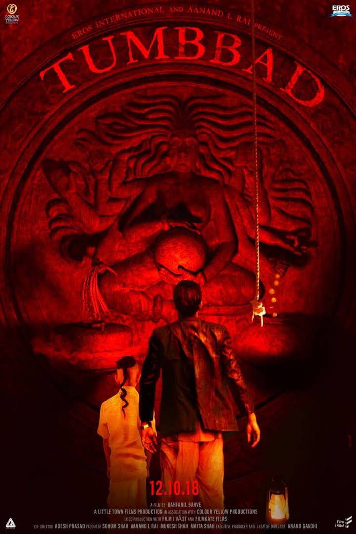 Tumbbad (2018)-[Hindi] Web-DL 720p x264 DD5.1| 1 gb|