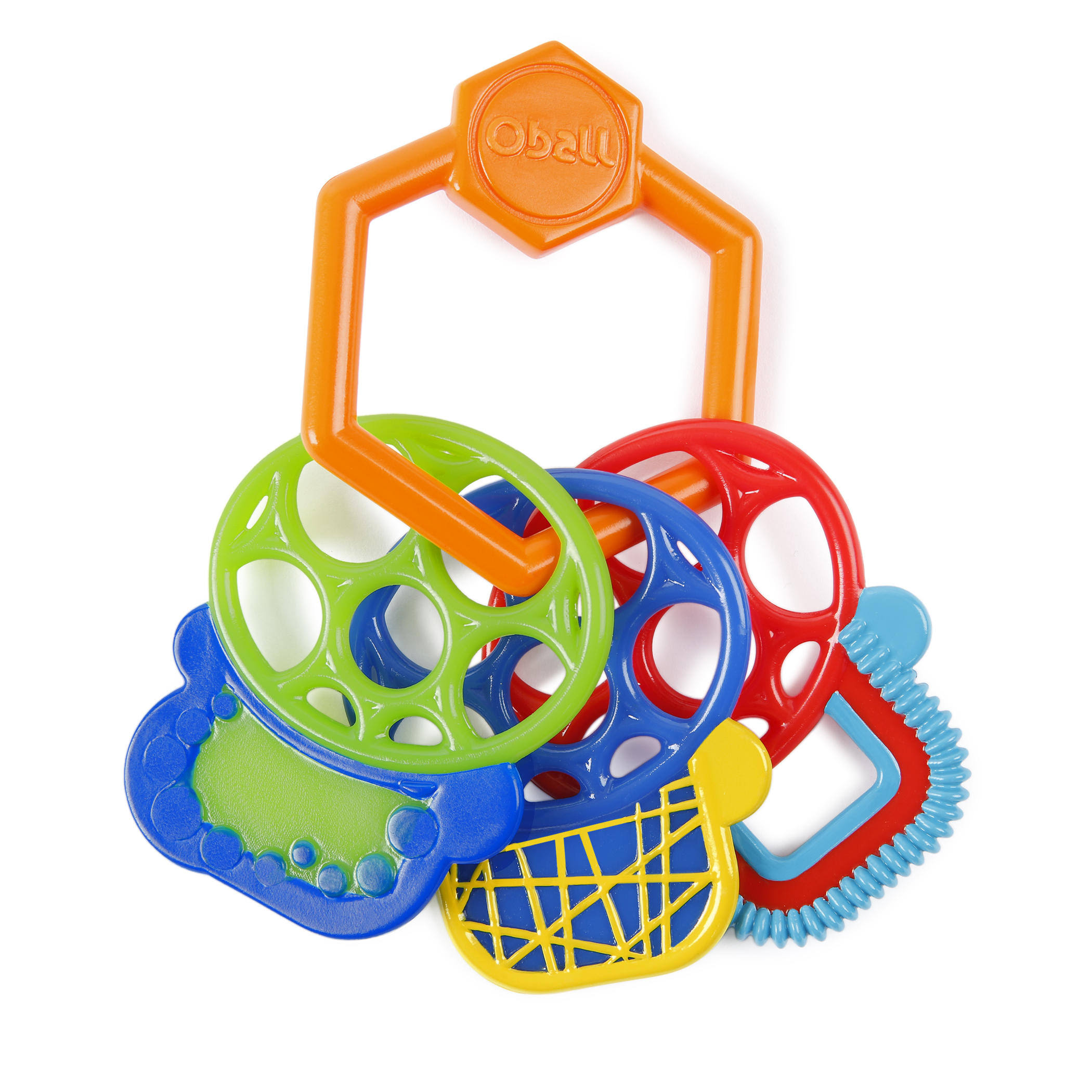 O Ball Grip and Teethe Keys Baby Toy