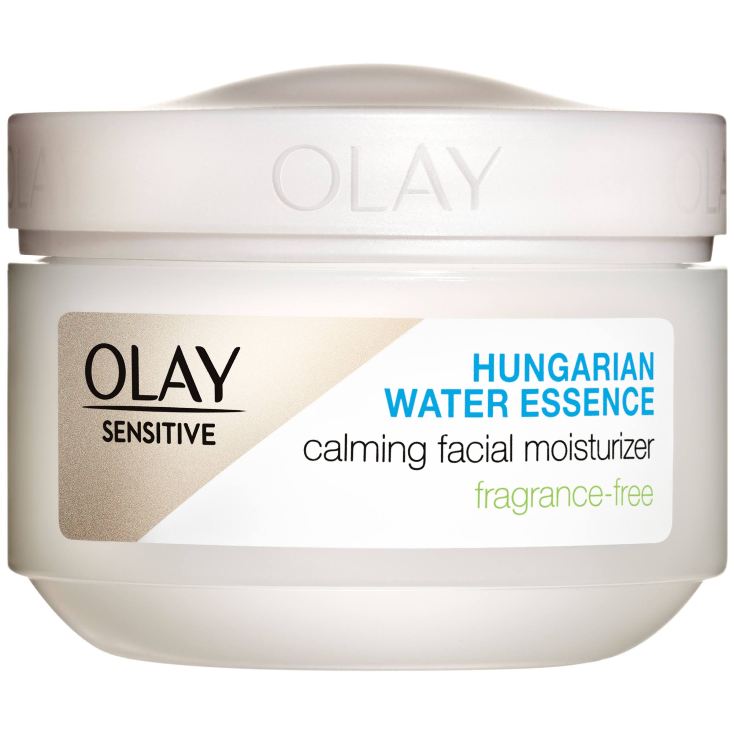 Olay Sensitive Calming Facial Moisturizer, Fragrance-Free, 2.5 fl oz