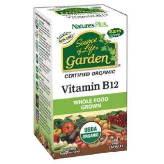 Natures Plus Source of Life Garden Vitamin B12 DietarySupplement - 60ct