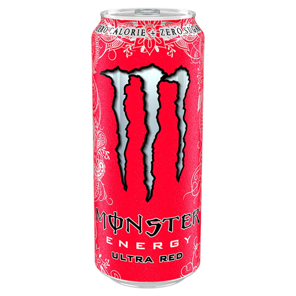 Monster Energy Drink - Ultra Red, 500ml