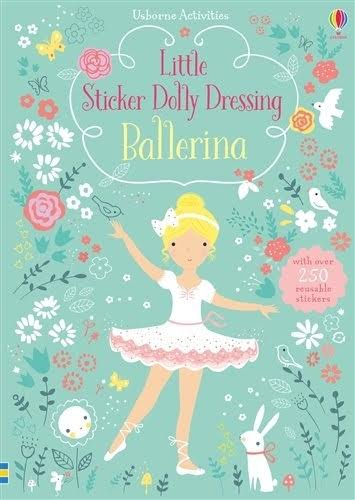 Usborne - Little Sticker Dolly Dressing Ballerinas - New