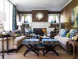 Brown Living Room Decorations by Color Theory And Living Room Design Hgtv