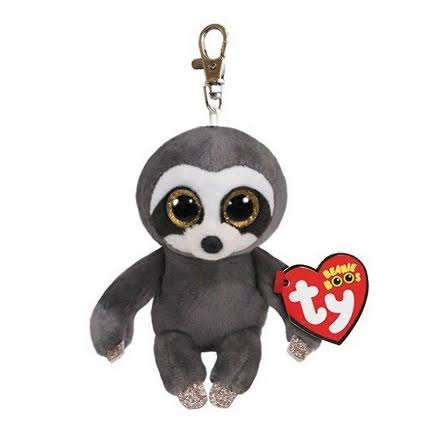 Beanie Boos 36559 Ty Dangler The Sloth Key Clip