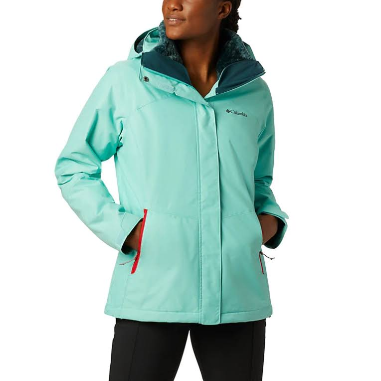 Columbia Women's Bugaboo II Fleece Interchange Jacket - M - Aquarium