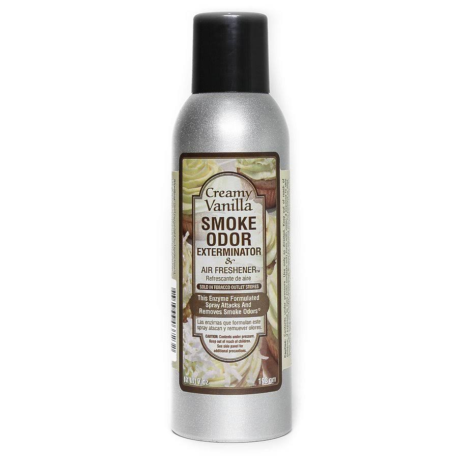 Smoke Odor Exterminator Spray - 7oz, Large, Creamy Vanilla