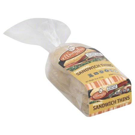 O'Doughs Original Sandwich Thins - 6pcs