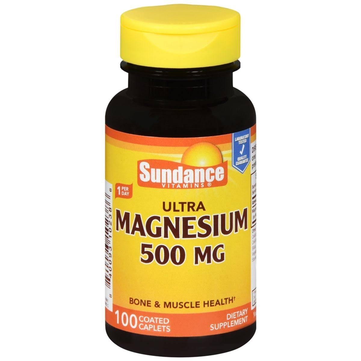 Sundance Ultra Magnesium Dietary Supplement - 500mg, 100ct