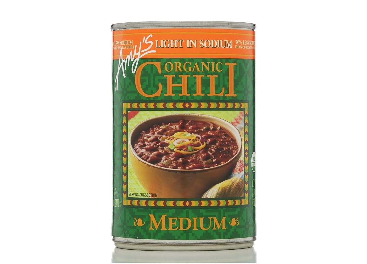 Amy's Organic Chili - Light in Sodium, Medium, 14.7oz