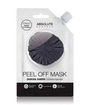 Absolute New York Charcoal Bamboo Peel Off Mask