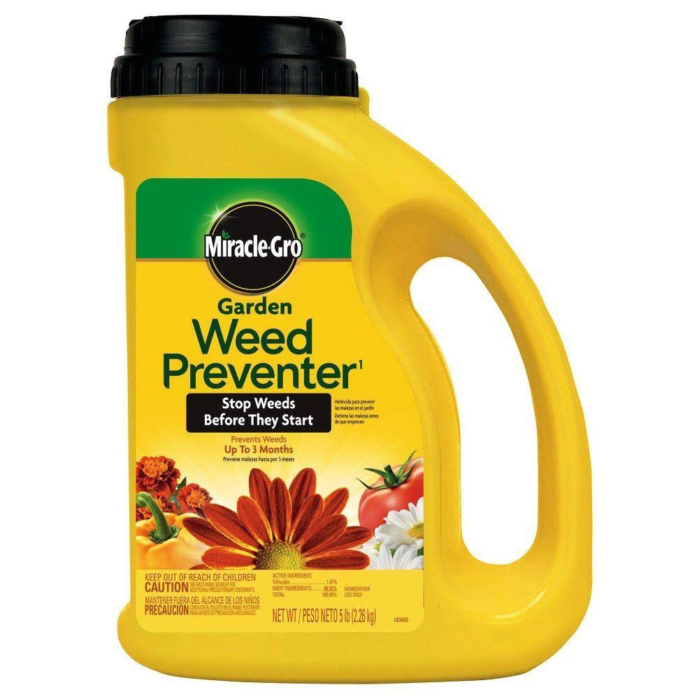 Scotts Miracle Gro Garden Weed Preventer - 5lbs