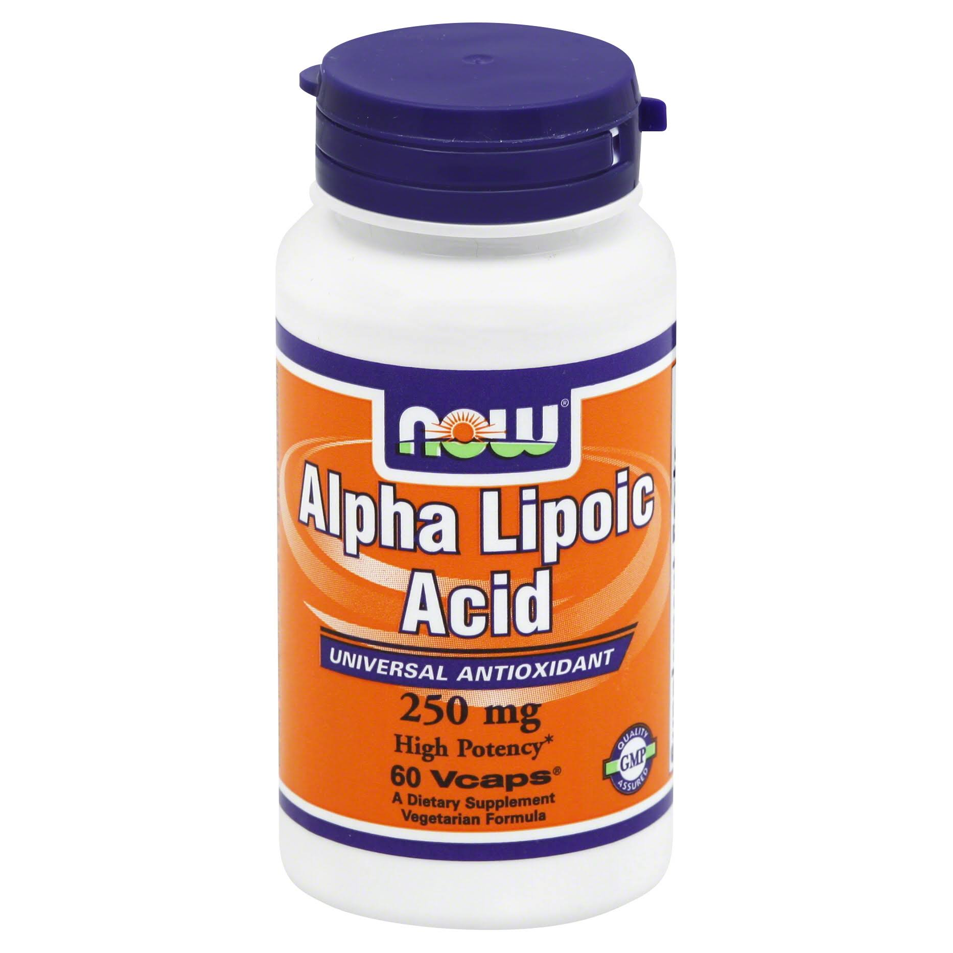 NOW Foods Alpha Lipoic Acid - 60 Vcaps, 250mg