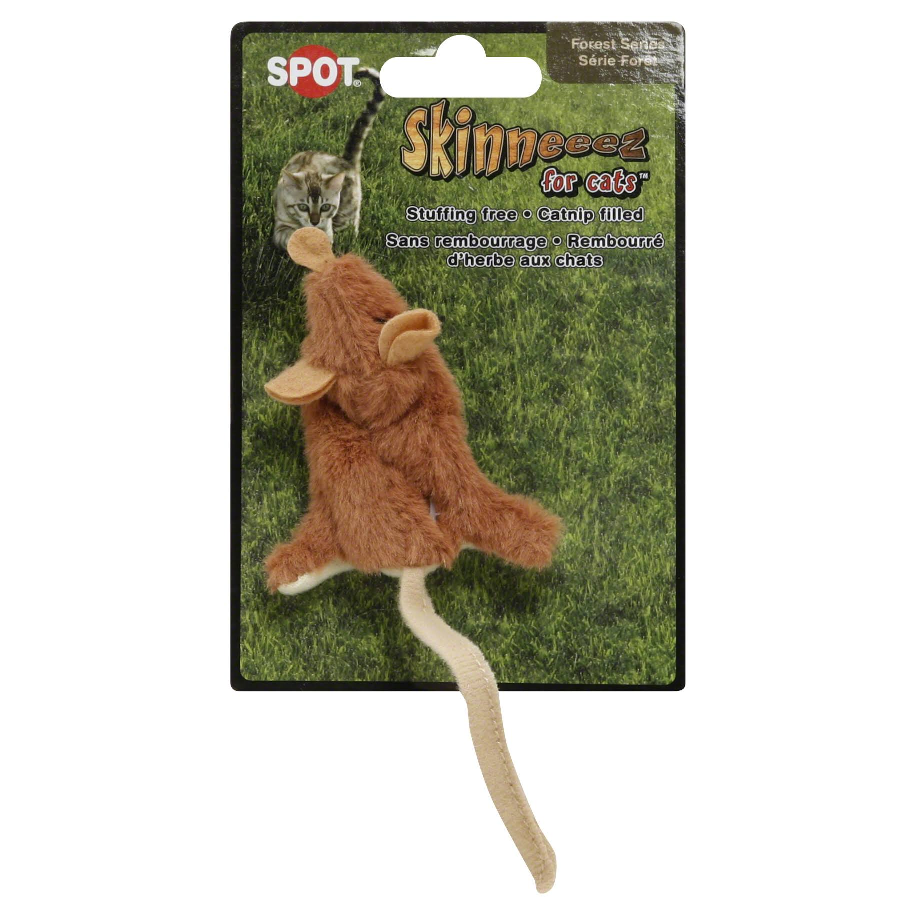Spot Skinneeez for Cats Mouse Toy With Catnip