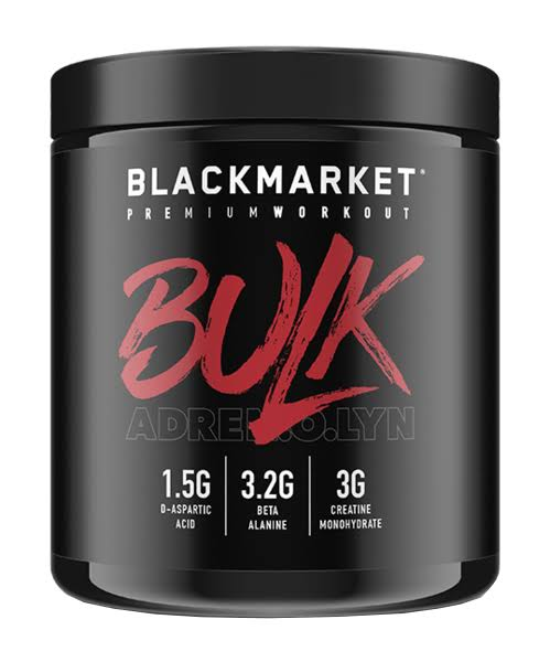 Blackmarket Labs Adrenolyn Bulk Pre-Workout (Blue Razz - 30 Servings)