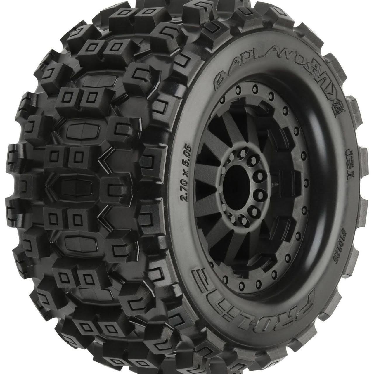Pro Line Badlands Mx28 Tires Mounted F and R - 2.8""